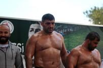 HÜSEYİN PEHLİVAN - Hüseyin Pehlivan Yağlı Güreş Turnuvası'nın Şampiyonu Ali Altun