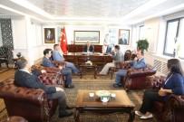 SİVİL TOPLUM - Kansere Karşı Birlik Derneği (KANKA) Üyeleri Melikgazi Belediyesini Ziyaret Etti