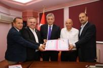 SERBEST BÖLGE - Karaman'da Serbest Bölge İçin Arsa Devir Teslimi Yapıldı