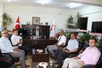 HALIL KAYA - KHB Genel Sekreteri Öz'den Müdür Çelik'e 'Hayırlı Olsun' Ziyareti