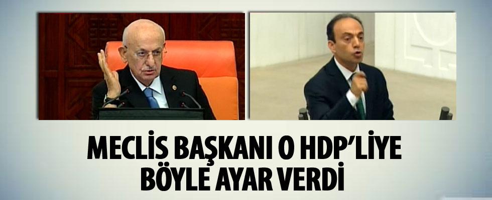 Meclis Başkanı Kahraman'dan Osman Baydemir'e tepki