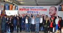 MUSTAFA DEMIR - Salihli AK Parti, Dinç İle 'Yola Devam' Dedi