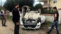 BEYKÖY - Takla Atan Araçta Bulunan 4 Kişi Yaralandı