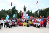 BASIN AÇIKLAMASI - Türkmenler, Referanduma 2 Gün Kala Toplanıp Barzani'ye Seslendi