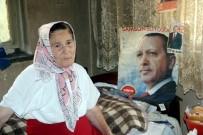 YAŞLI KADIN - Yaşlı Kadının Cumhurbaşkanı Sevgisi