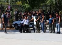 ANTALYA HAVALİMANI - Akülü Engelli Aracı İçerisinden 13 Kilogram Esrar Çıktı