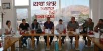 BASIN MENSUPLARI - Bitlis'te Gazetecilerin Sorunları Masaya Yatırıldı