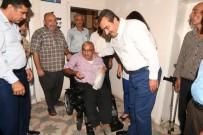 DOĞU AKDENİZ - Çetin, Saimbeyli'deki Engelliye Akülü Araç Götürdü