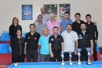 MUSTAFA DEMIR - Karaman'da İl Kontenjanı Üç Bant Bilardo Turnuvası Sona Erdi