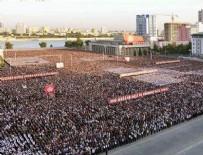 PYONGYANG - Kuzey Kore'de ABD karşıtı miting