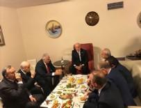 DEVLET BAHÇELİ - Meclis Başkanı Kahraman, liderlerle bir araya geldi
