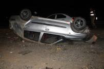 DİYARBAKIR - Otomobil Takla Attı Açıklaması 1 Ölü, 3 Yaralı