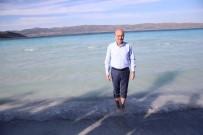 YERLİ TURİST - 'Türkiye'nin Maldivler'i' Salda Gölü'ne İlgi Artacak