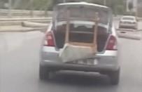 Akan Trafikte Pes Dedirten Görüntü