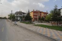 SEYRANI - Aşık Seyrani Caddesinde Yaya Yolu Çalışmaları Devam Ediyor
