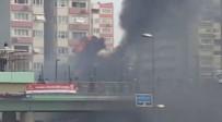 ATAKÖY - Ataköy Metrosu'nda Yangın Paniği