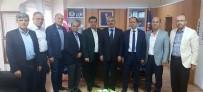 MEHMET DOĞAN - Başkan Bakıcı'dan Vakıflar Bölge Müdürü Emek'e Teşekkür Ziyareti