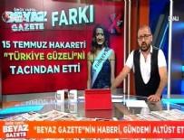 MİSS TURKEY - Beyaz Gazete'nin haberi dünya gündeminde