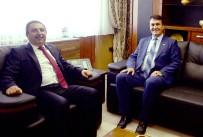 ABDÜLKADIR ŞAHIN - Dündar'dan BAM Başkanı Şahin'e Ziyaret