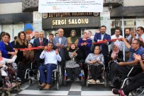 OMURİLİK FELÇLİLERİ - Engellilerden Engelleri Aşan Sergi