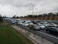 FATIH SULTAN MEHMET KÖPRÜSÜ - FSM Köprüsü Girişinde Trafik Yoğunluğu
