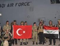 Irak Silahlı Kuvvetleri tatbikat için Türkiye'de