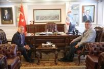 SERBEST BÖLGE - Kayseri Serbest Bölge Müdürü Reşat Çeçen Melikgazi'de