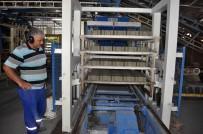 KALDIRIM TAŞI - Kemer Belediyesi Kendi Taşını Kendi Üretiyor