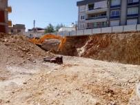 Milas'ta İnşaat Sırasında Yol Göçtü