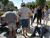 Milas'ta Motosikletler Çarpıştı Açıklaması 2 Yaralı