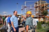 KELEBEKLER VADİSİ - Muhtarlar Selçuklu'daki Yatırımları Gezdi