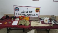 SPOR AYAKKABI - Ağrı'da PKK Dokümanları Ele Geçirildi