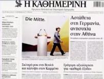 ATINA - Almanya'daki seçimler Yunanistan'ı endişelendirdi