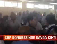CHP KONGRESİ - CHP kongresinde kavga