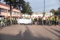 MURAT HÜDAVENDIGAR - Çocuklar Bisikletle Okullarına Gittiler
