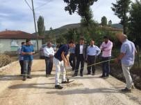 Kaymakam Karacan Köy Yollarında İncelemelerde Bulundu