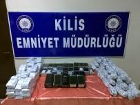 KAÇAK CEP TELEFONU - Kilis'te Cep Telefonu Operasyonu