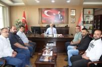 Meterisliler Taraftar Derneği Emniyet Müdürü Artunay'ı Ziyaret Etti