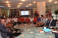 MELEN ÇAYI - Rafting Milli Takımı Başkan Keleş'i Ziyaret Etti