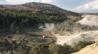 Soma'da 5 Dönümlük Ormanlık Alan Zarar Gördü