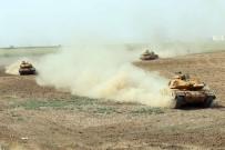 ZIRHLI ARAÇLAR - Türk Ve Irak Askerleri Tozu Dumana Kattı