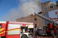 MEDIKAL - Ankara'da İş Yerinde Korkutan Yangın