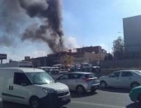 İVEDİK ORGANİZE SANAYİ BÖLGESİ - Ankara'da korkutan yangın