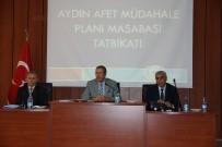 FARUK GÜNAY - Aydın'da Masabaşı Tatbikatı Yapıldı