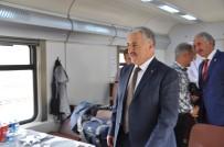 DEMİRYOLLARI - BTK Demiryolu Hattı'nda Tiflis'ten Kars'a İlk Tren Geldi