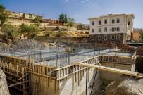 Doğanyol İlçesinde Kültür Merkezi İnşaatı Devam Ediyor