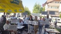 KAHVEHANE - Halk Sağlığı Müdürlüğü Personeli 'Alzheimer Gününü' Unutmadı