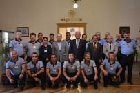 ANIZ YANGINI - İtfaiye Teşkilatı Başkan Gürün'ü Ziyaret Etti