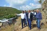 KARADERE - İznik Barajında İlk Çalışmalar Başladı