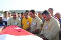 ORMAN İŞÇİSİ - Kazada Ölen Orman İşçisi İçin Hüzünlü Tören